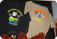 Owen River T-shirts NZ$45.00
